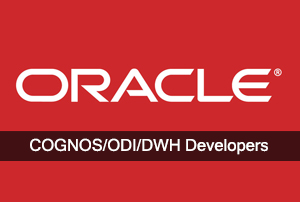 ORACLE/COGNOS/ODI/DWH Developers